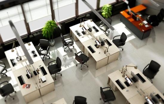 Thiết kế phòng làm việc đẹp như mơ chỉ với diện tích khiêm tốn