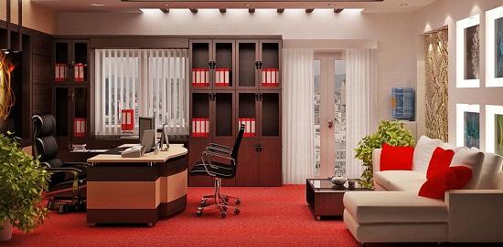 Thiết kế nội thất phòng giám đốc sao cho rộng rãi