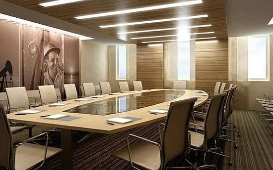 Thiết kế phòng họp theo thiên hướng nghệ thuật
