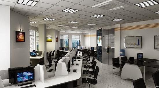Thiết kế phòng nhân viên với các mẫu bàn làm việc ấn tượng