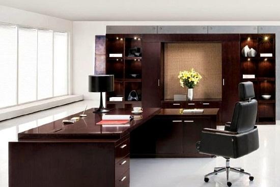 Tủ tài liệu phòng giám đốc đẹp ở Nguyễn Công Hoan