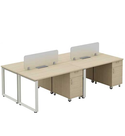 Modul bàn làm việc hòa phát HRMD08