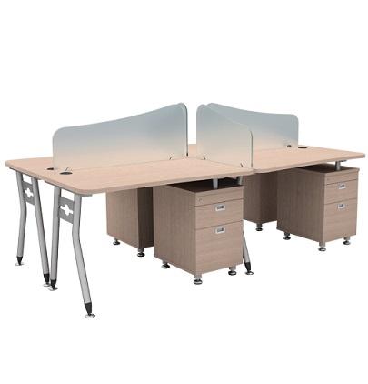 Modul bàn làm việc hòa phát HRMD06