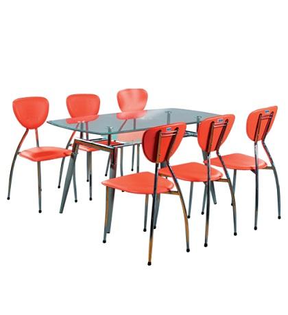 Bộ bàn ghế phòng ăn cao cấp B52, G52