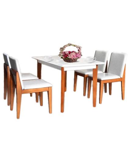 Bộ bàn ghế phòng ăn HGB62A, HGG62
