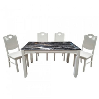 Bộ bàn ghế phòng ăn HGB65A, HGG65