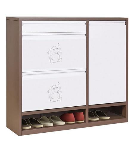 Tủ giày thép sơn tĩnh điện hòa phát TG05