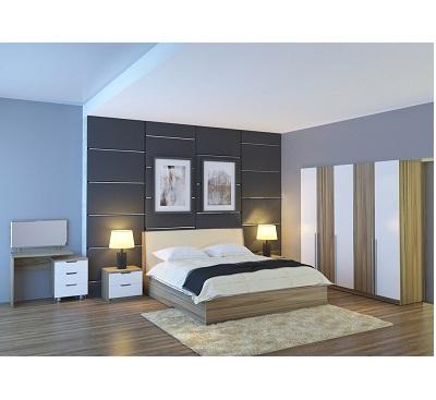 Bộ giường phòng ngủ gỗ GN304