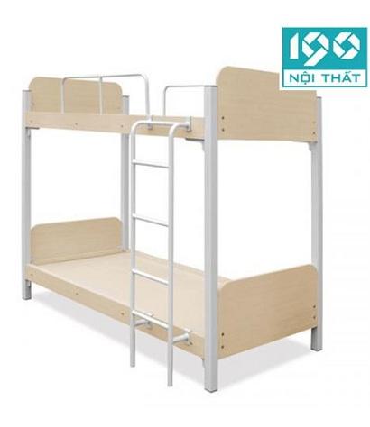 Giường gỗ khung sắt 190 JS-2T-G