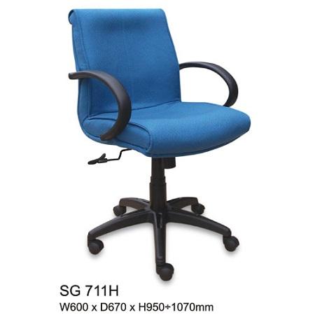 Ghế xoay lưng trung SG711