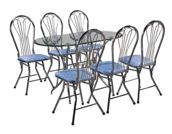 Bộ bàn ghế phòng ăn B47-G18C
